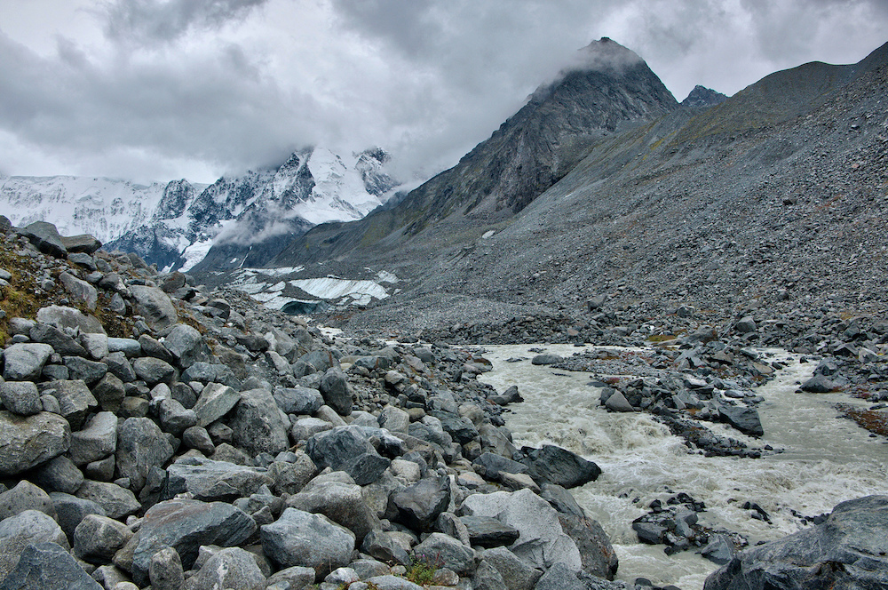 The Akkem glacier in the Altai Mountains. Image: Tatters under a CC License