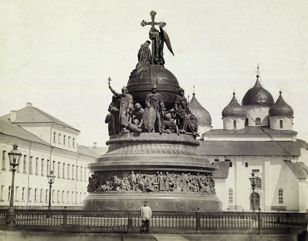 Monument to 1,000 years of Russian history unveiled in Veliky Novogorod 1862