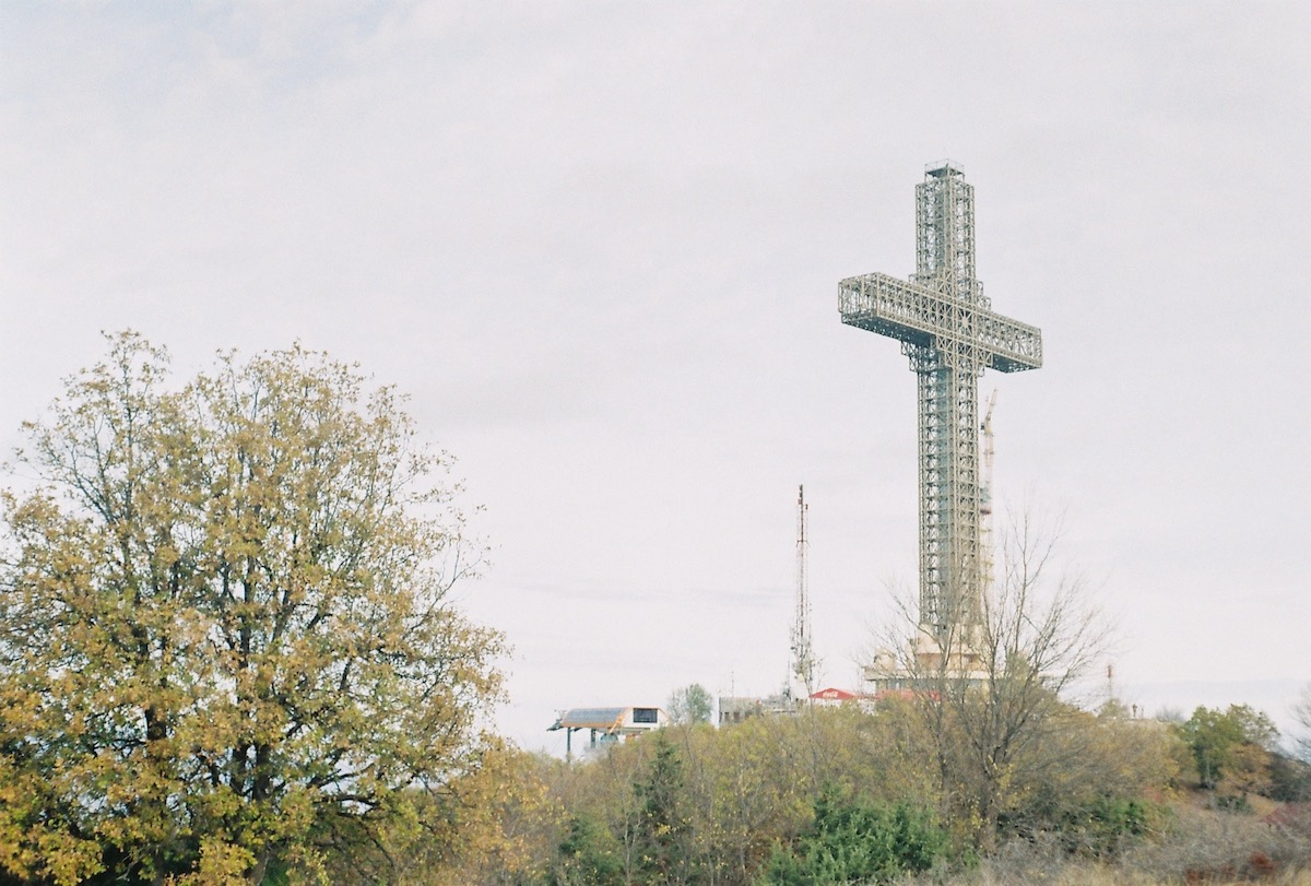The Millenium Cross. Image: Elise Morton