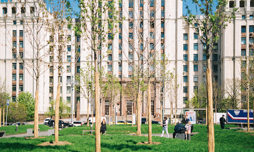My street: Moscow is getting a makeover, and the rest of Russia is next