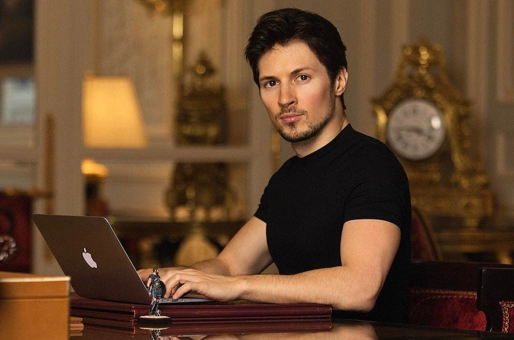 Pavel Durov in Paris in 2017. Image: Instagram / durov