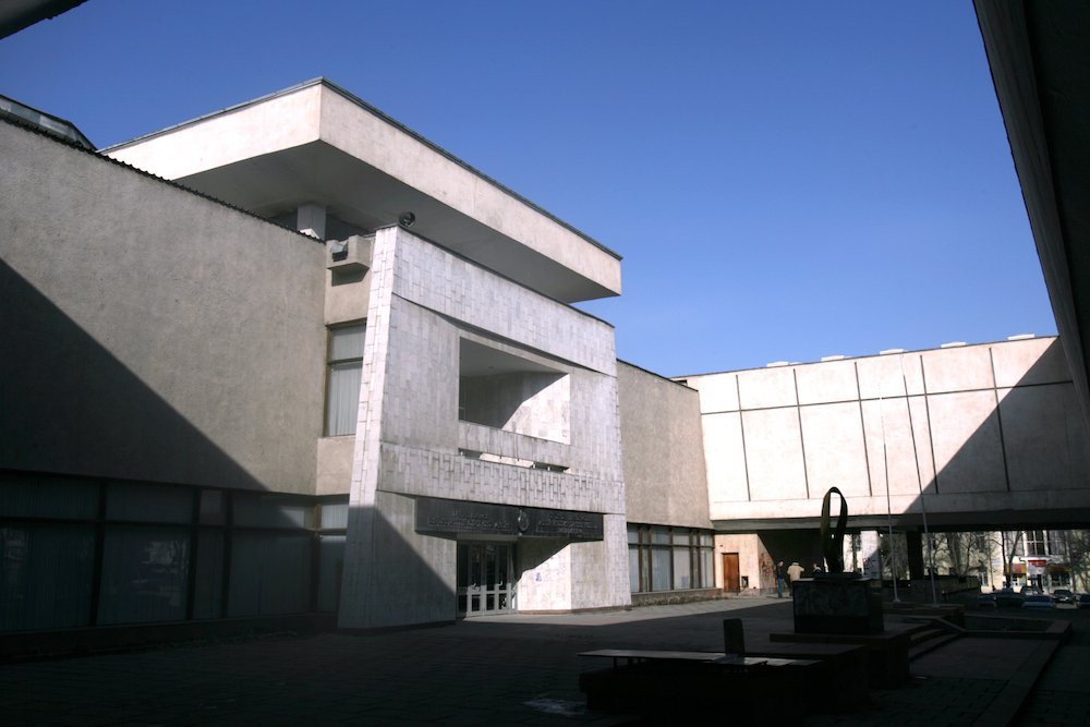 The National Museum of Fine Arts in Bishkek
