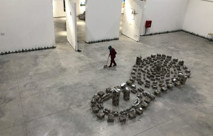 The art of attraction: meet the Kyrgyz women bringing the public back to galleries