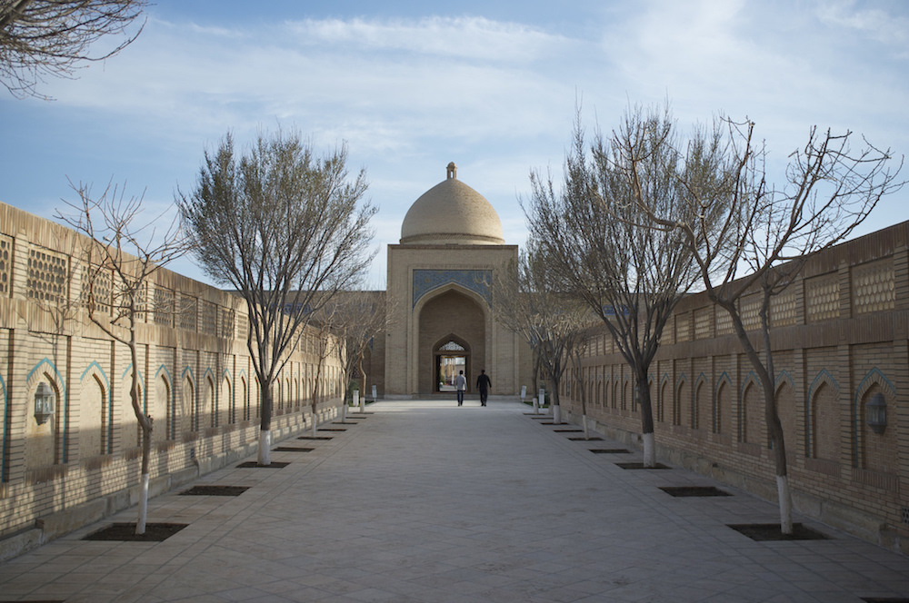 The Bakhautdin Naqshband Mausoleum in Bukhara, one of the cities featured in <em> The Devils' Dance </em>. Image: Aleksandr Zykov under a CC License