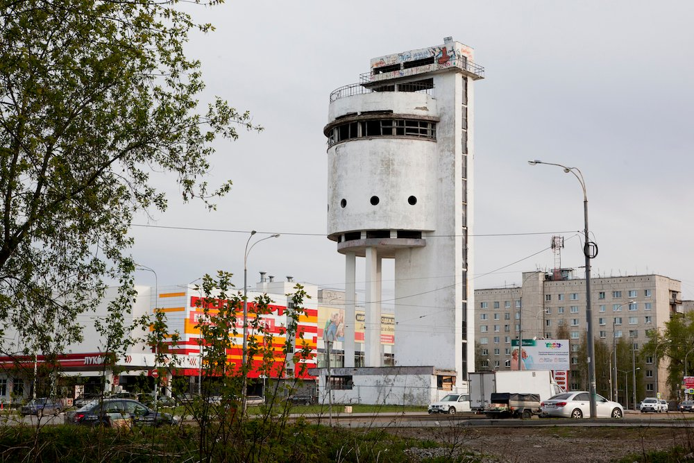 The Constructivist-era White Tower in Yekaterinburg. Image: Fyodor Telkov