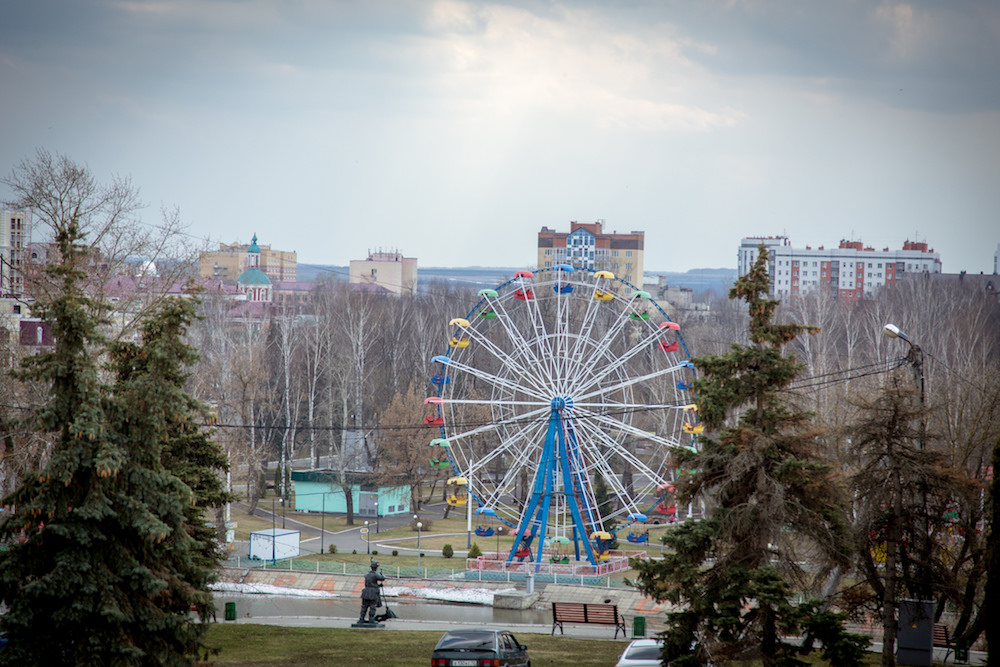 A funfair in Saransk. Image: Julian Buijzen under a CC License