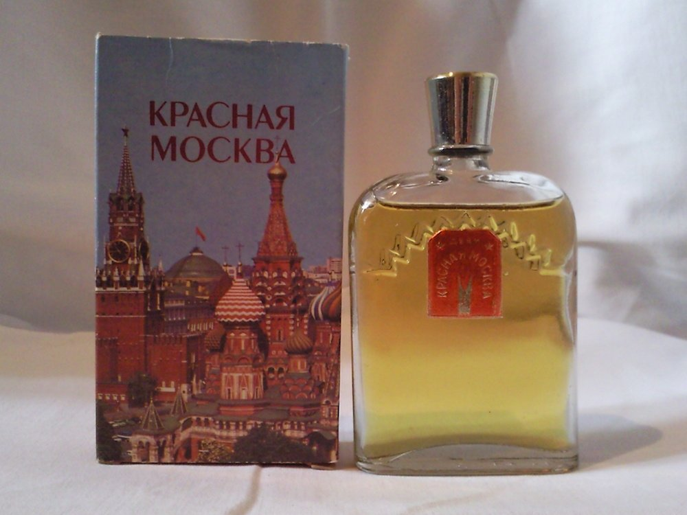 A bottle of Krasnya Moskva (Red Moscow)