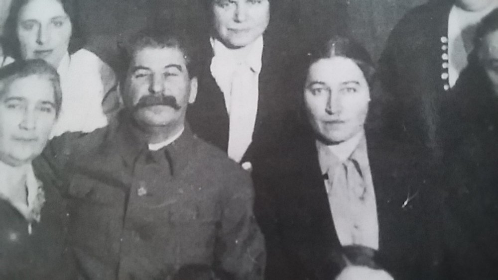 Polina Zhemchuzhina, who introduced plastic surgery to the early Soviet Union, alongside Stalin in the 1930s (image: BoroniaWinchester under a CC licence)