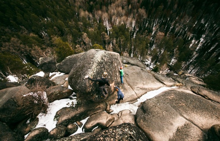 Climbing free: would you brave Krasnoyarsk's towering rock formations?