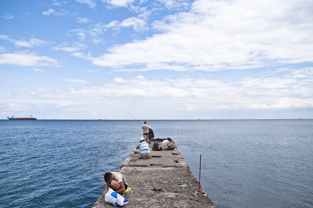 The Black Sea in Odessa, Ukraine. Image: Marco Fieber under a CC licence