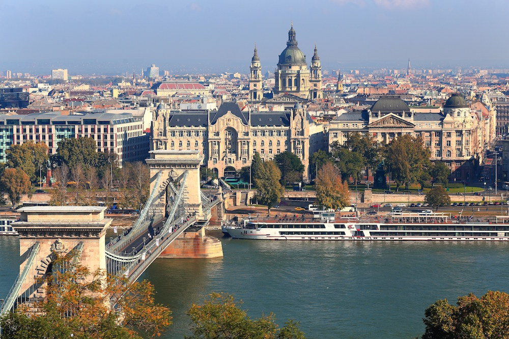 Budapest in summer. Image: Thomas Depenbusch under a CC licence