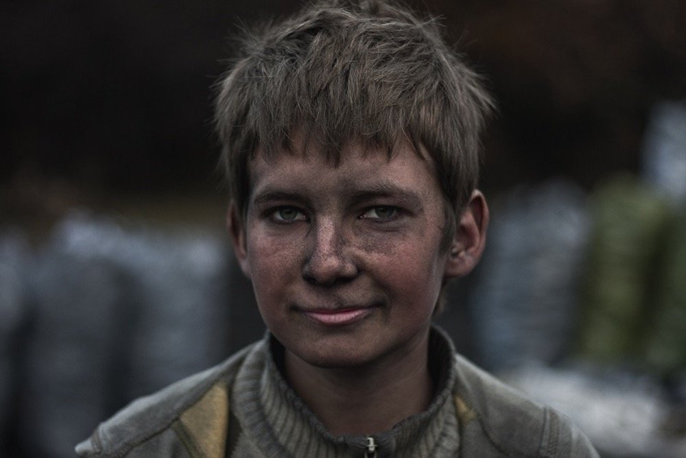 A coal maker's son near Strandja Mountain, on the border of Turkey and Bulgaria. Photo: Nedret Benzet