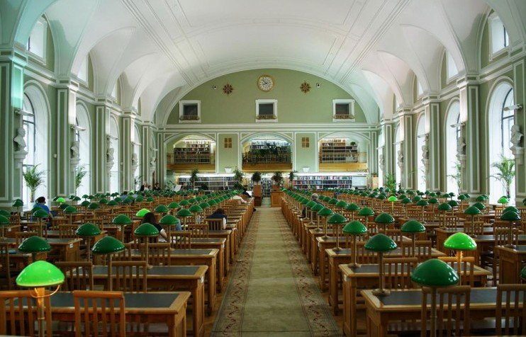 Library in russian