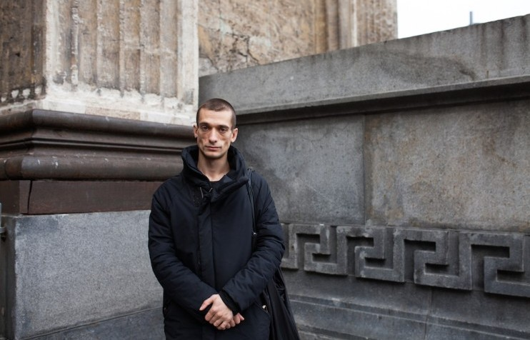 Acts Of Resistance Pyotr Pavlensky On Performance Art As