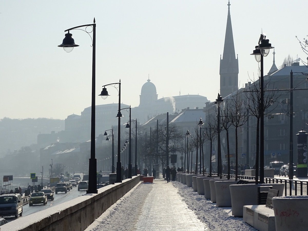 By the Danube River in Budapest. Photo: magocilla under a CC license