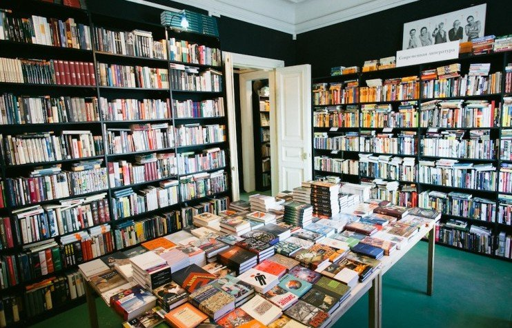 great expectations russias best new independent bookshops - Bookshelves For Bookstores