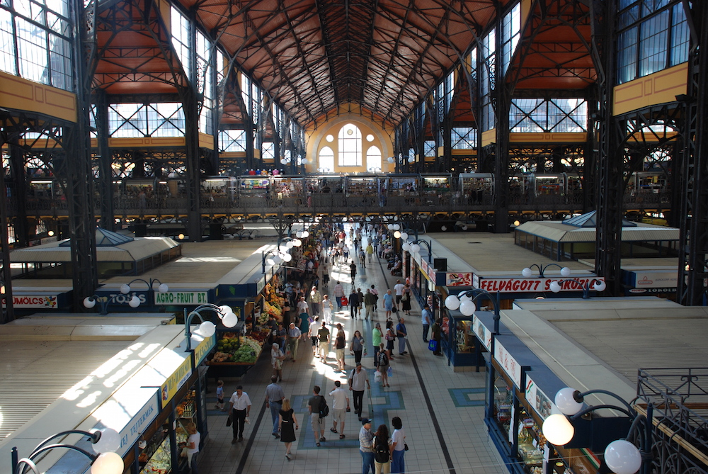 The Budapest Central Market Hall. Image: Blake Lennon under a CC licence