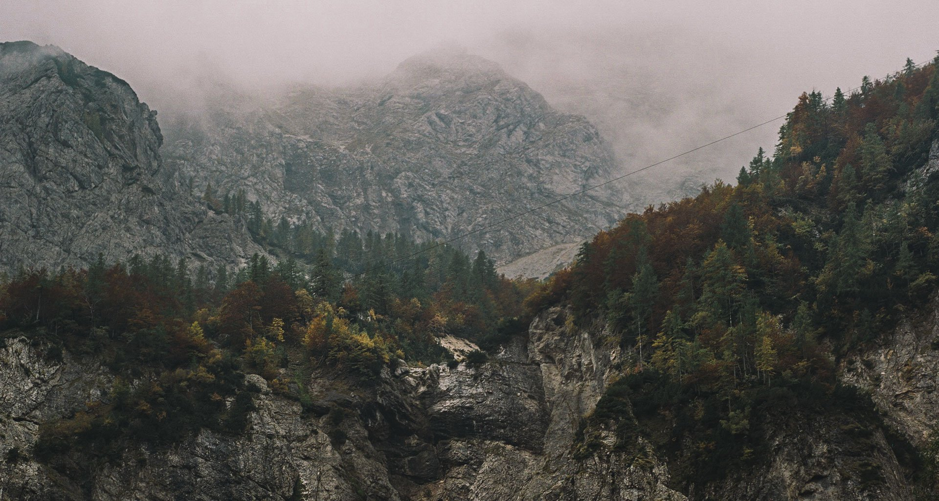 Slovenia's alpine vistas are unmissable, even on misty autumn days
