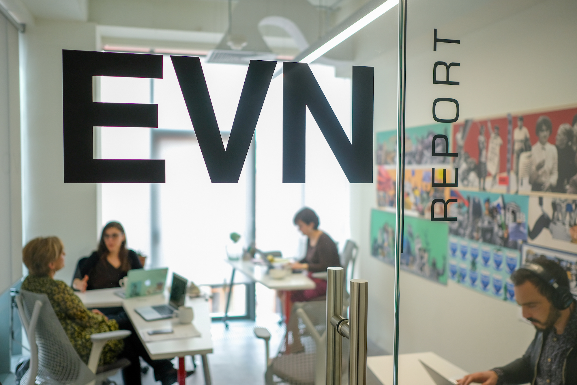 EVN Report's office in Yerevan