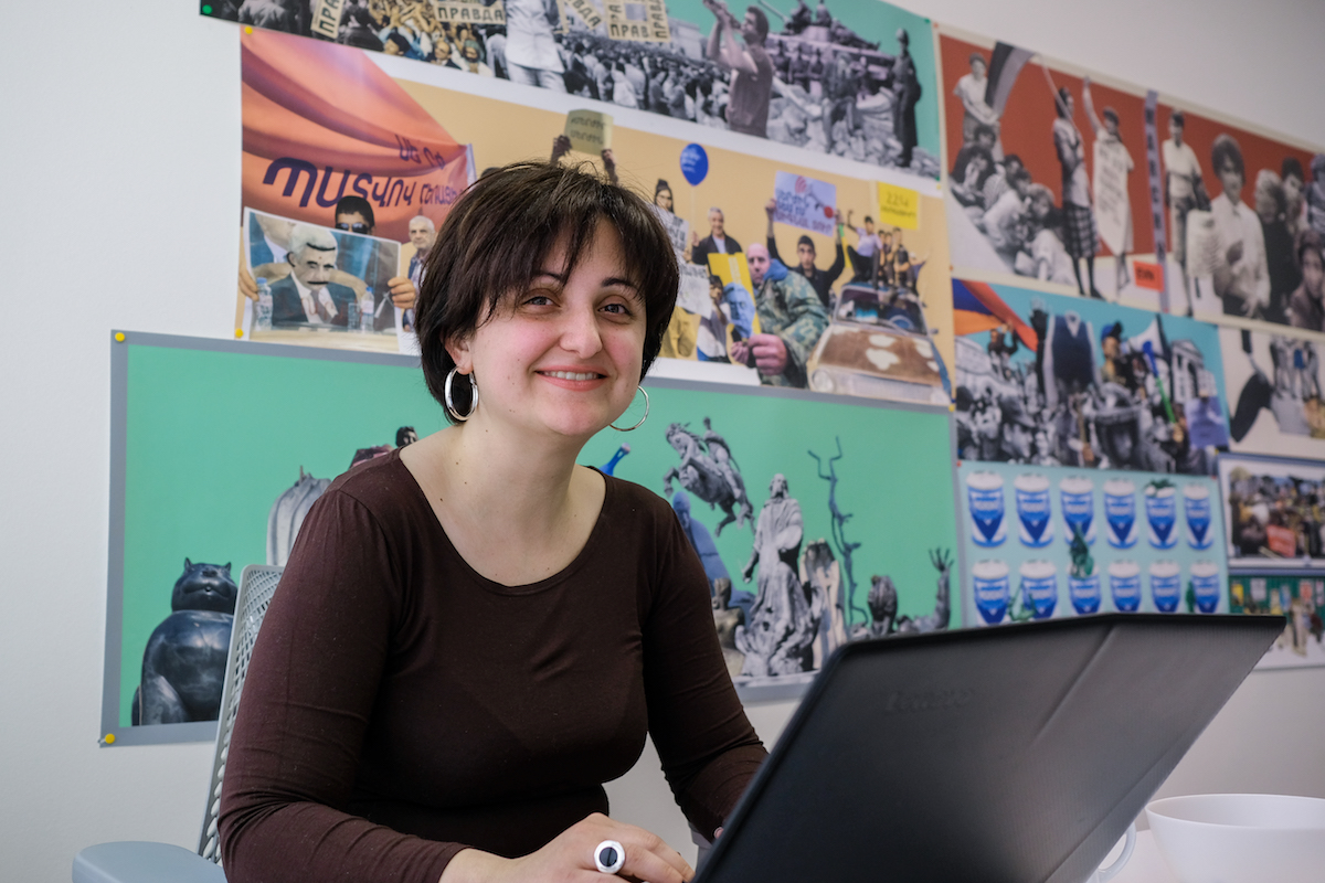 Heghine Gyulnazaryan, EVN Report's Programs Manager