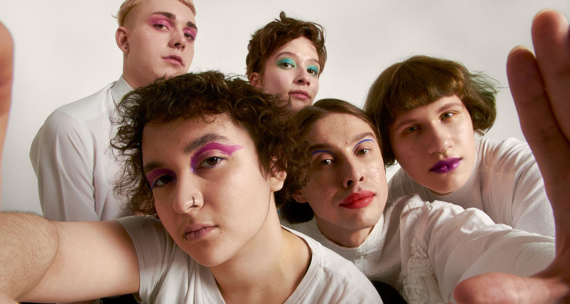 For these queer young Russians, makeup is both armour and a weapon