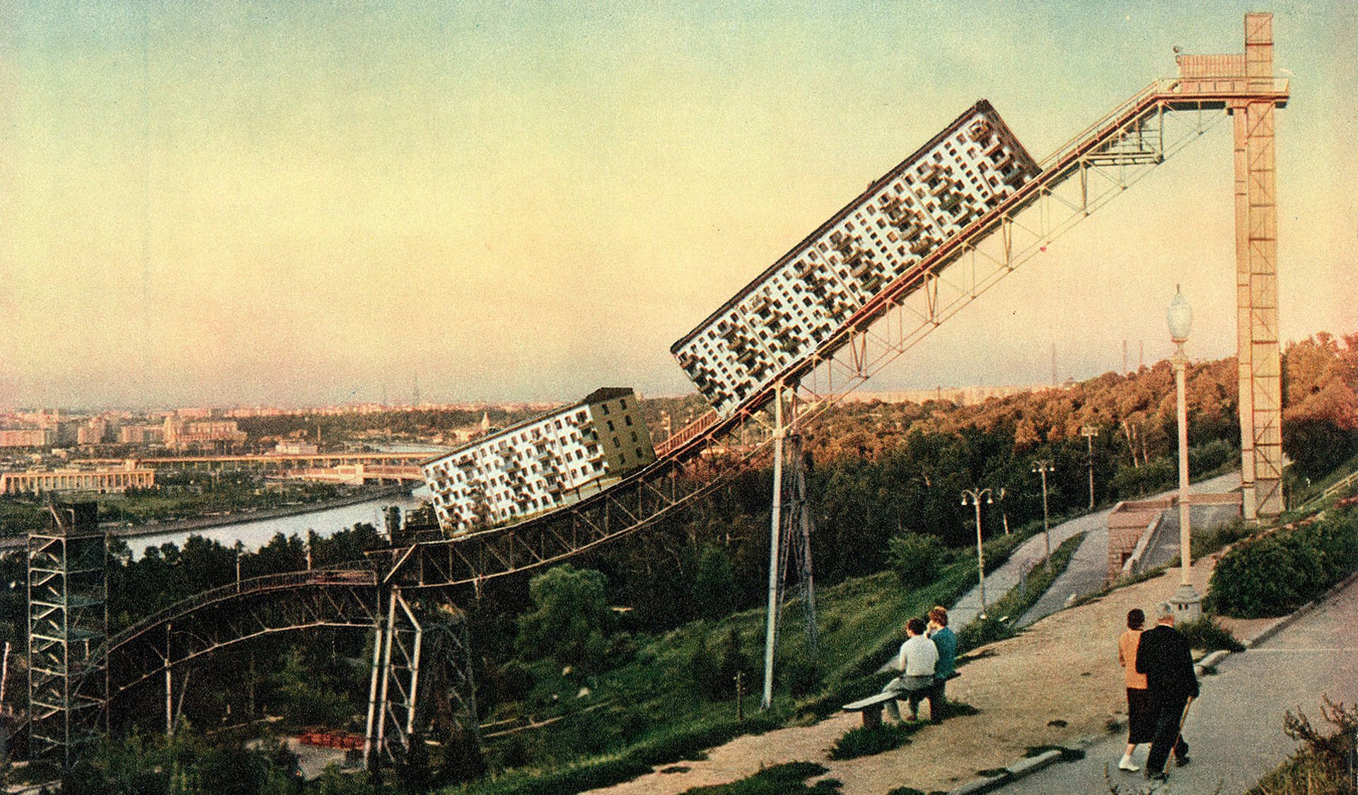 surreal USSR collages Tamara Stoffers