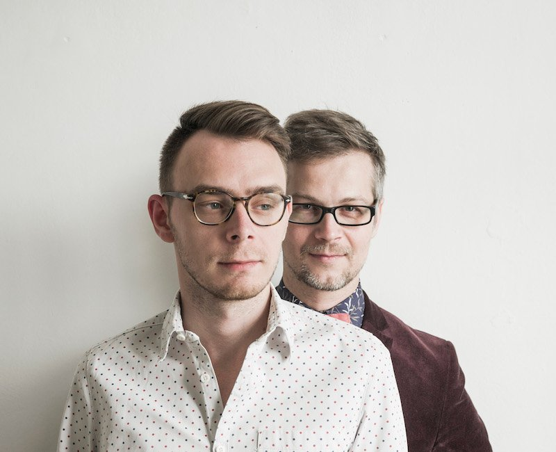 In conservative Poland, gay literary couple 'Maryla Szymiczkowa' are cutting a defiant path