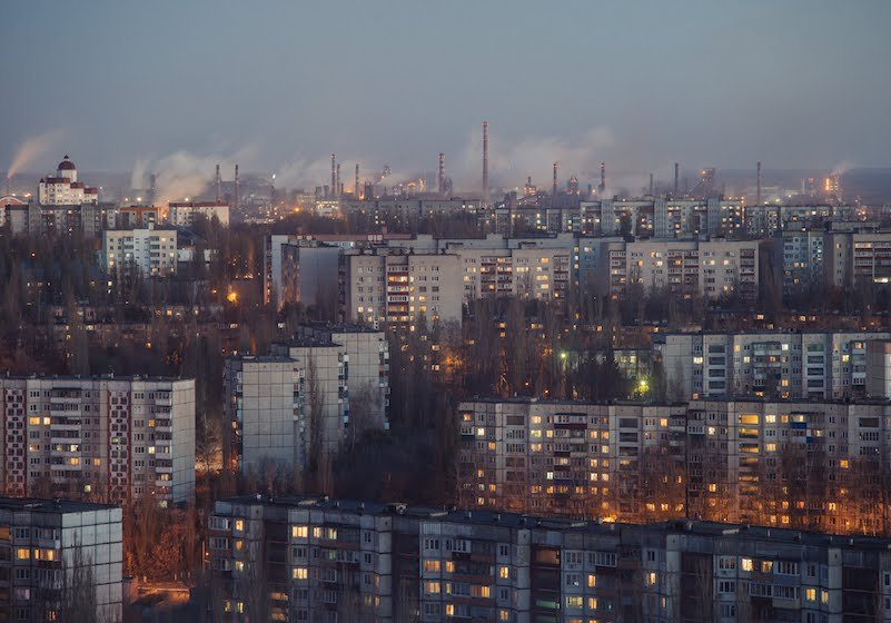 One photographer finds the poetry in post-Soviet urban chaos