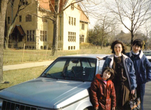 Moskovich's family's first car in the United States
