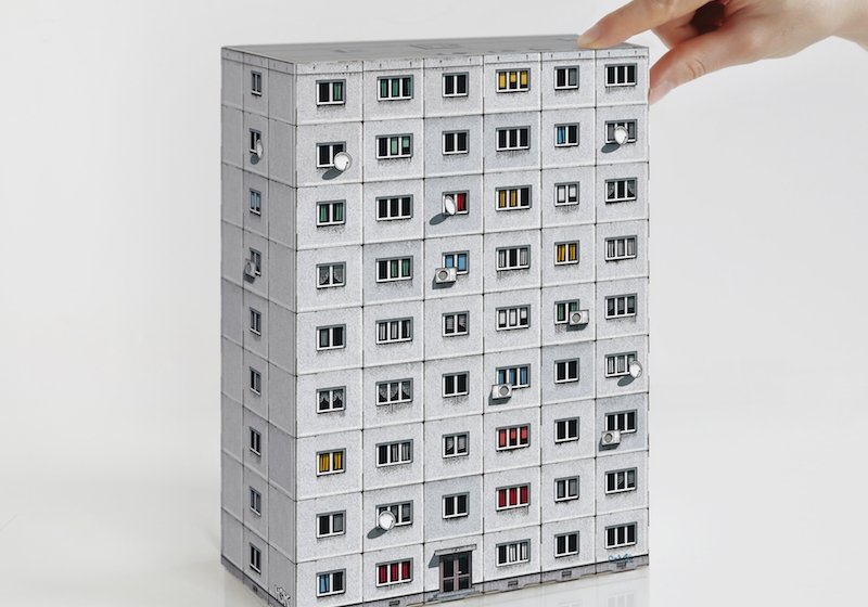 Bring socialist modernism home with these miniature, build-your-own tower blocks