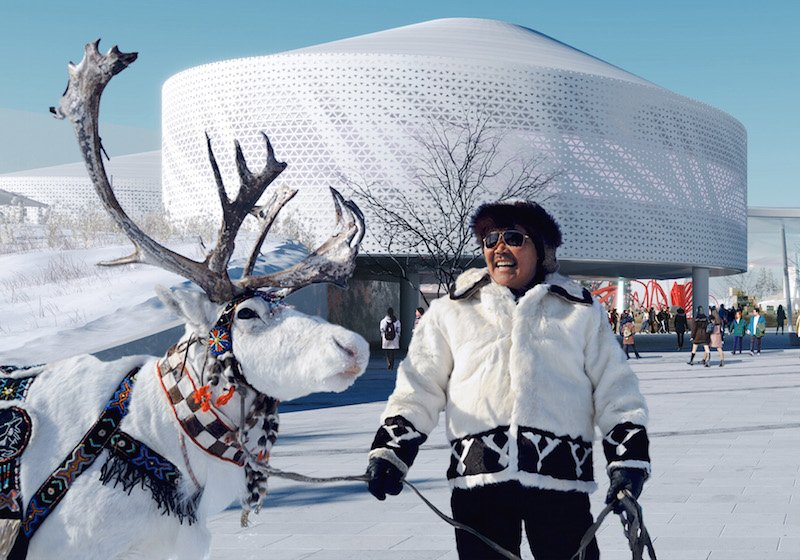Yakutsk is getting an award-winning educational park inspired by its permafrost cityscape