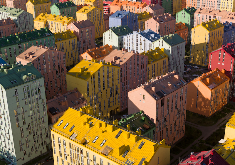 Gold at the end of the rainbow: Kyiv's colourful housing wins at the World Architecture Festival