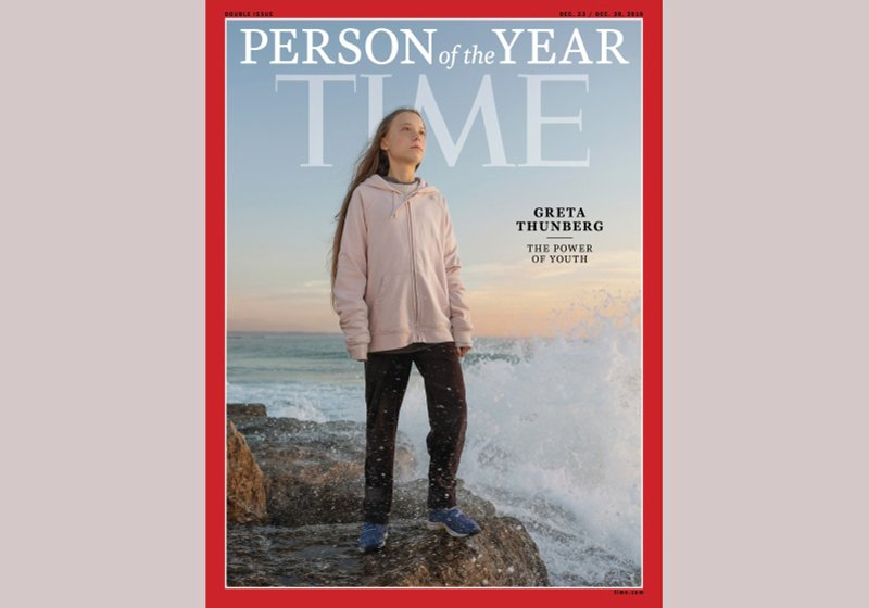 Evgenia Arbugaeva's portrait of Greta Thunberg for Time's Person of the Year is a celebration of courage