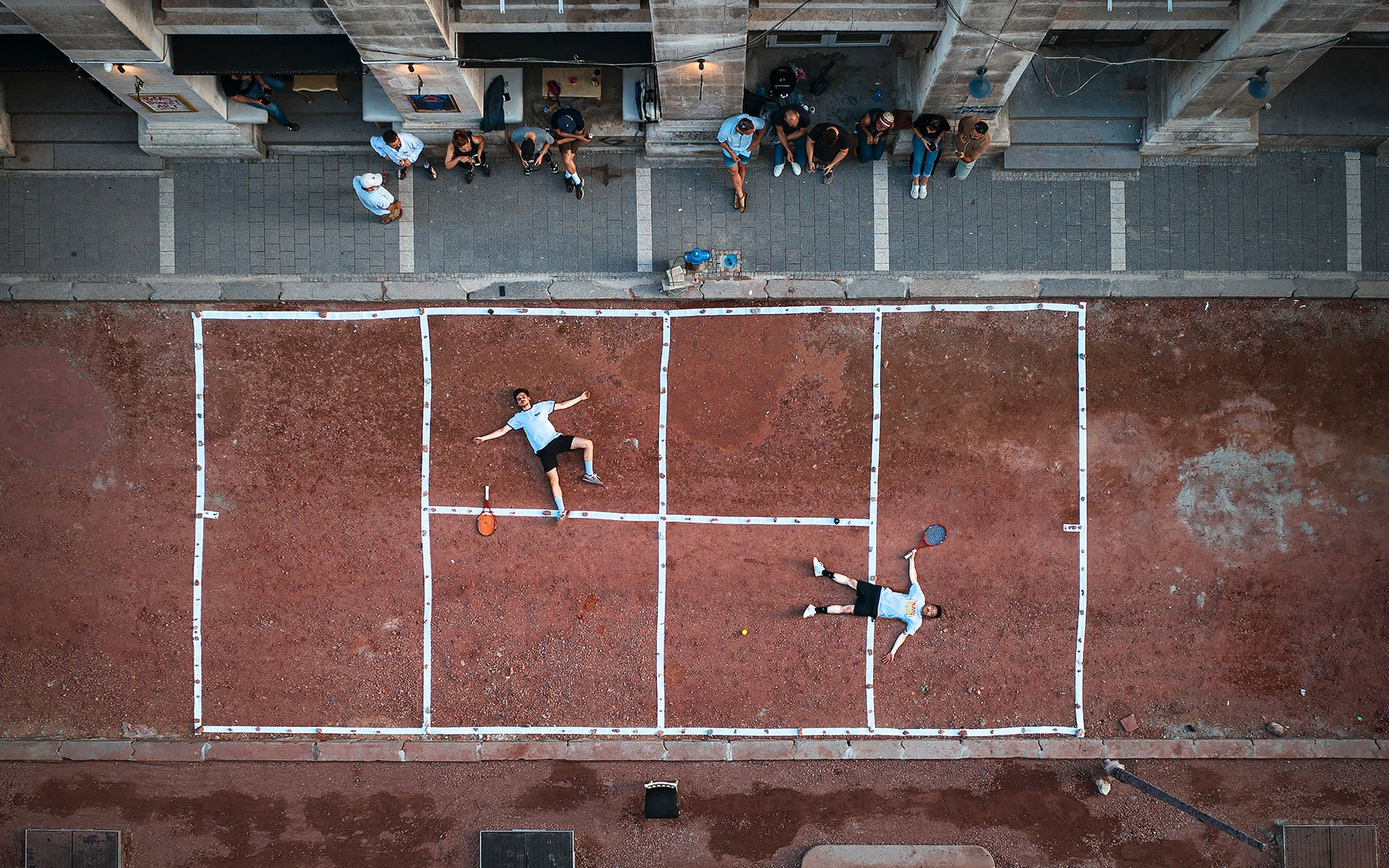 Anyone for tennis? In Sofia, locals are finding creative ways to save the city centre