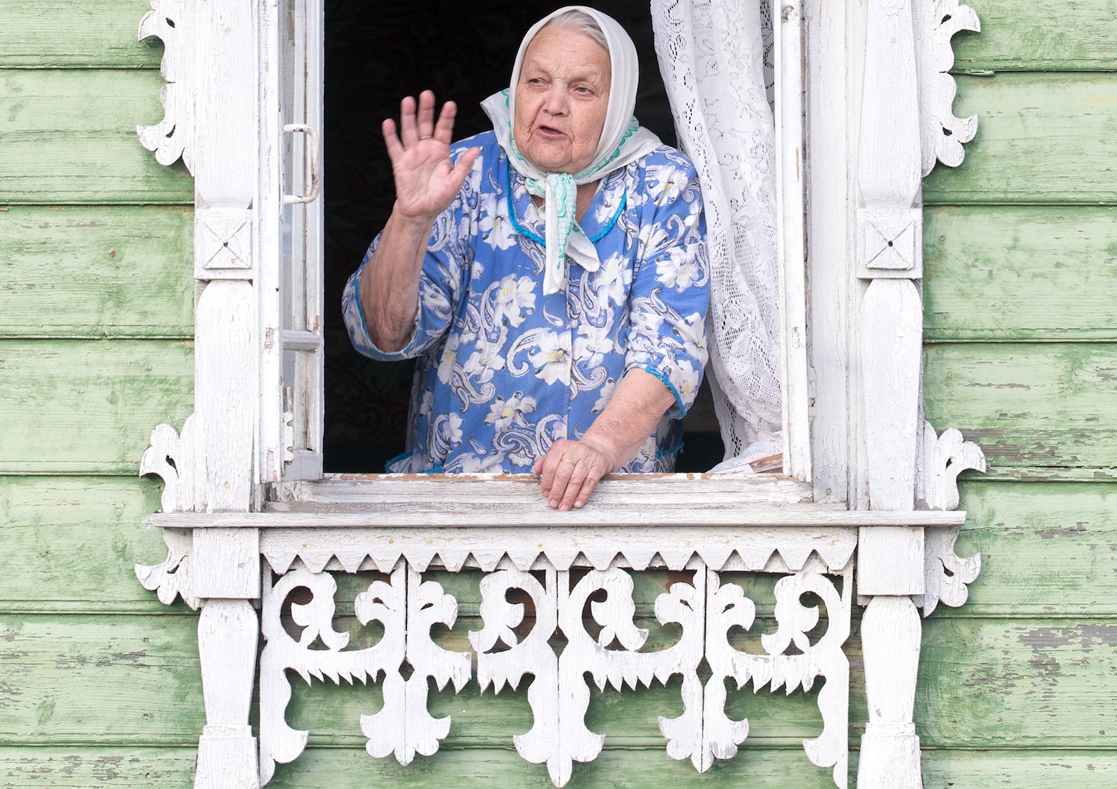 Celebrating the quaint charm of Nalichniki, the ornate wooden window frames of Russia