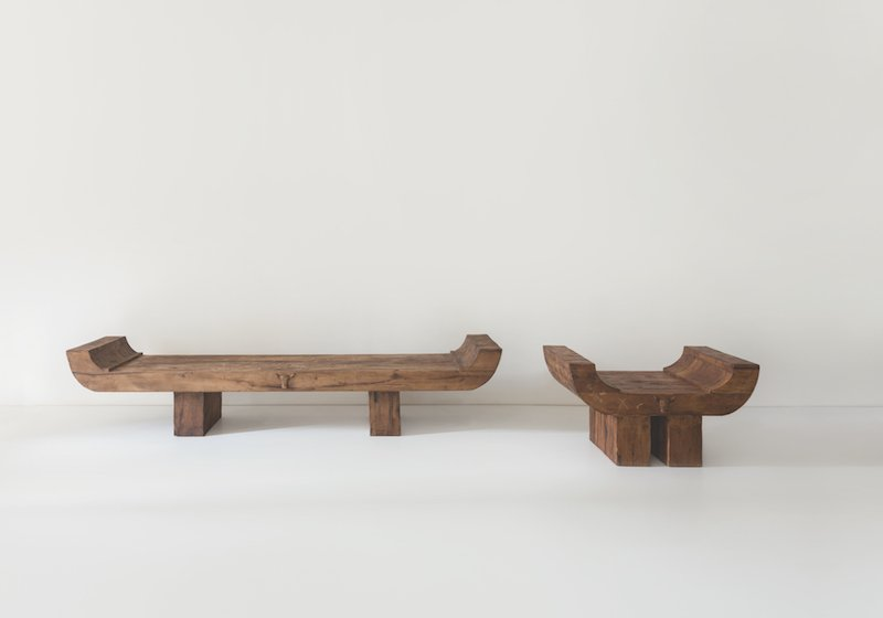 A Georgian design studio invites you to destroy their Soviet bus stop-inspired benches