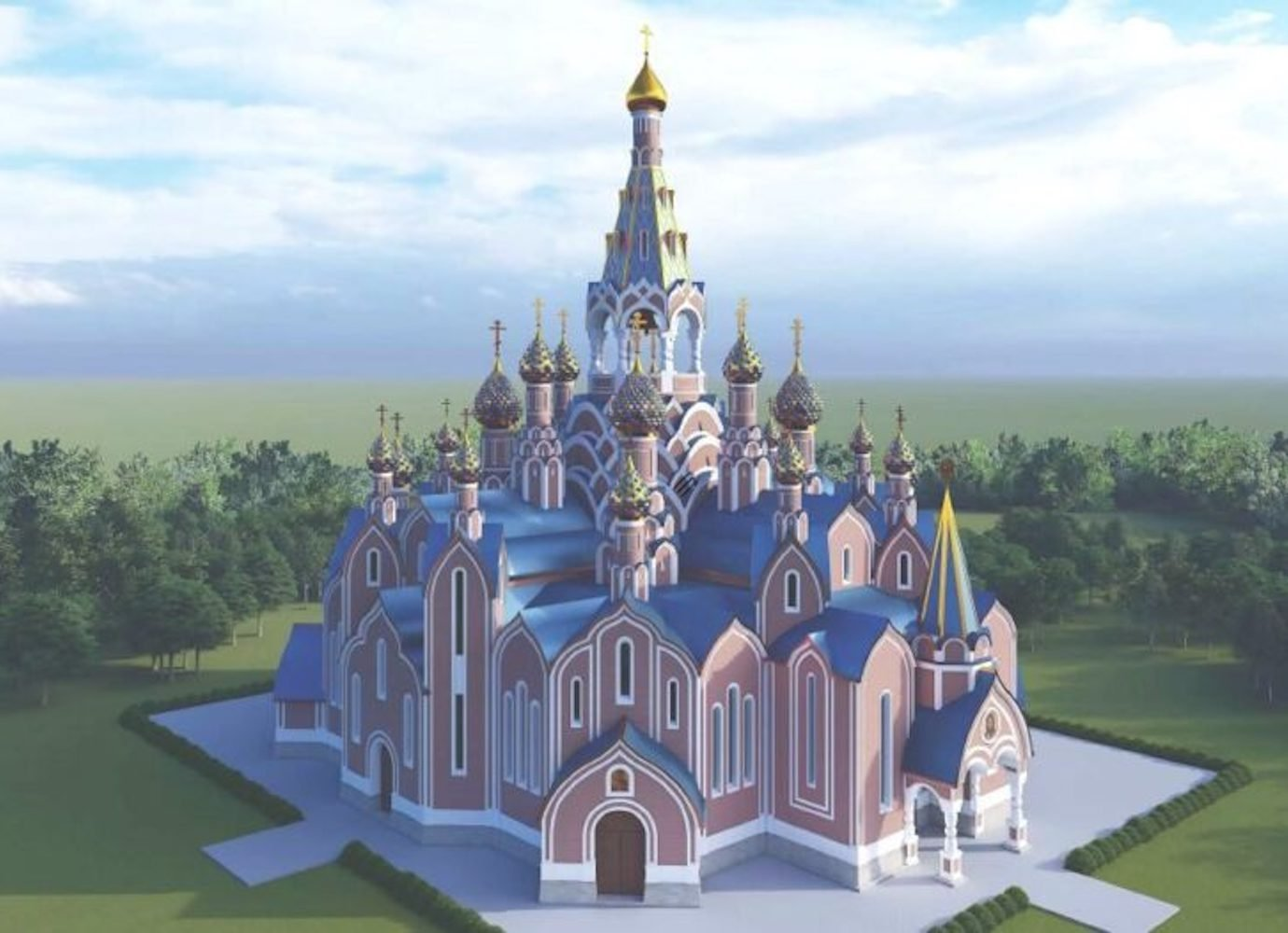 Extravagant Orthodox cathedral to be built on Moscow State University Campus