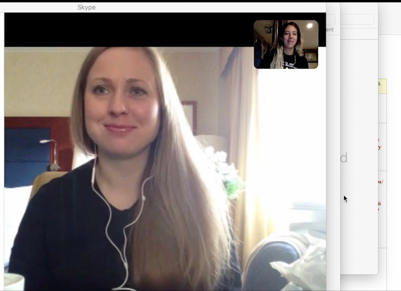 Watch a friendship blossom in real-time between an online Russian language tutor and her pupil