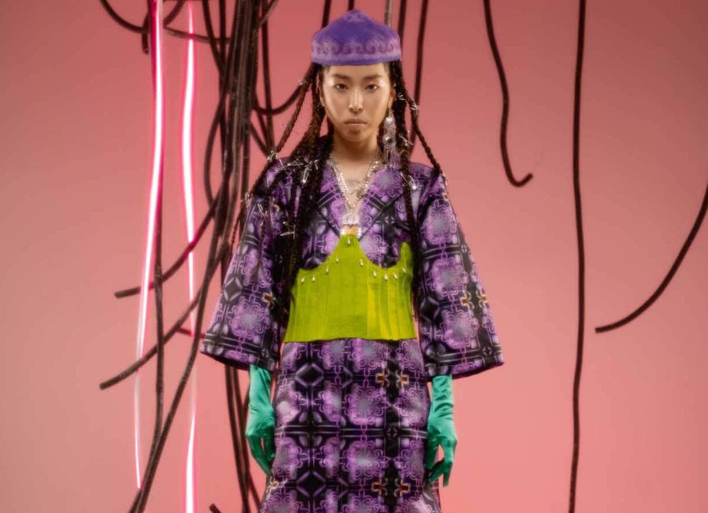 Techno-shamans and flying yurts: follow the fashion label developing Central Asian futurism