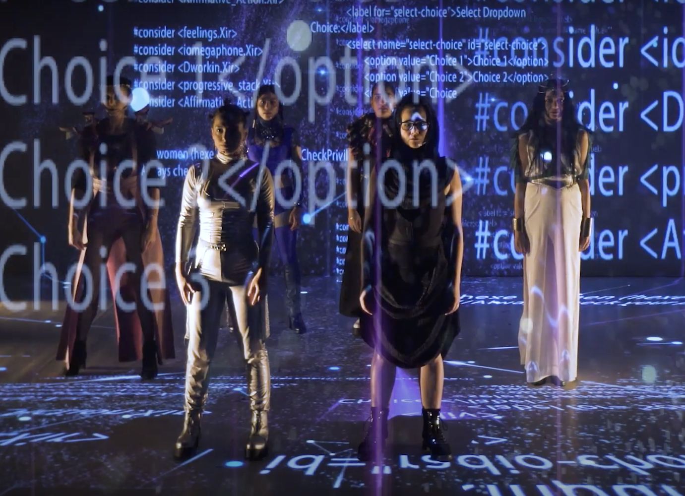Watch the Roma futurist play where cyber witches stop Brexit