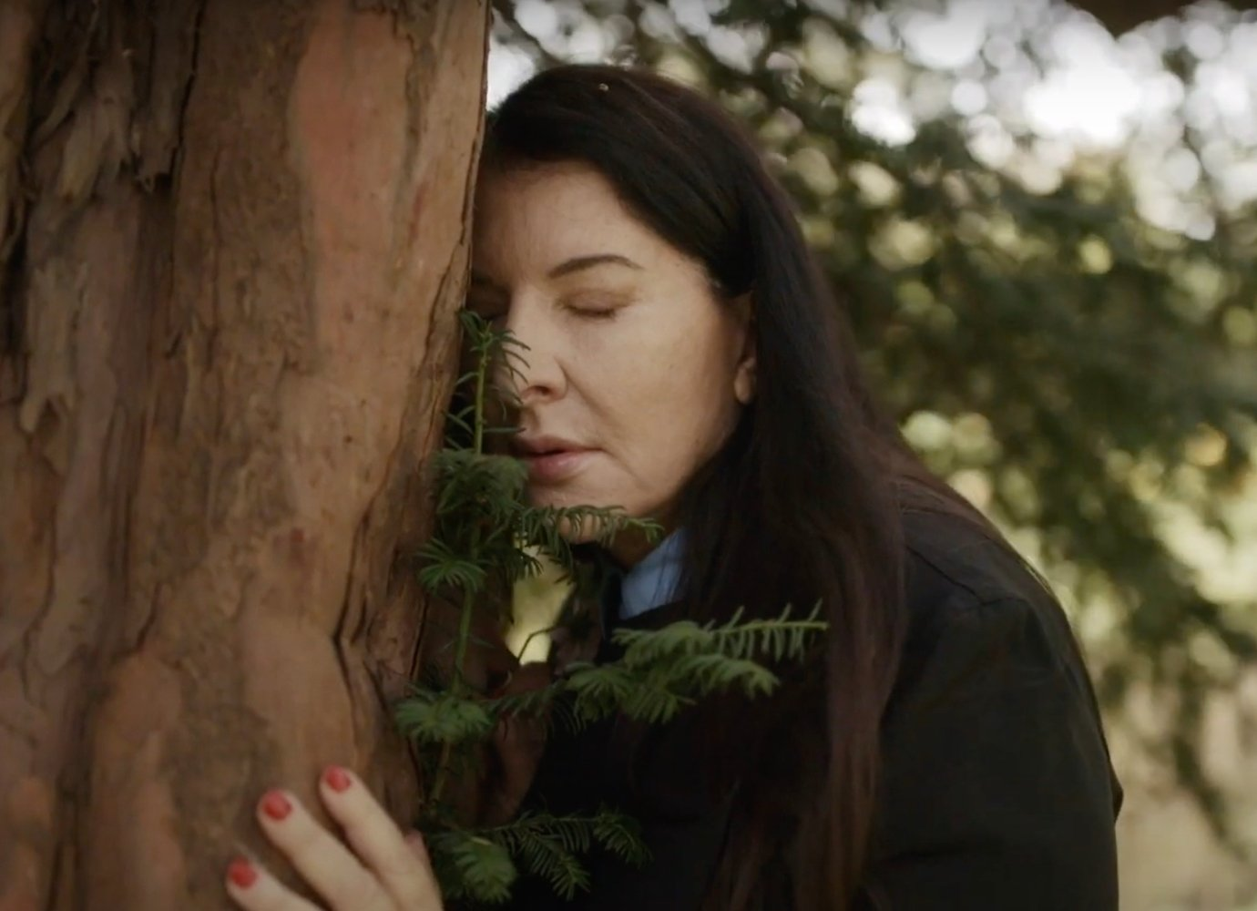 Marina Abramovic wants you to share your 2020 problems with a tree