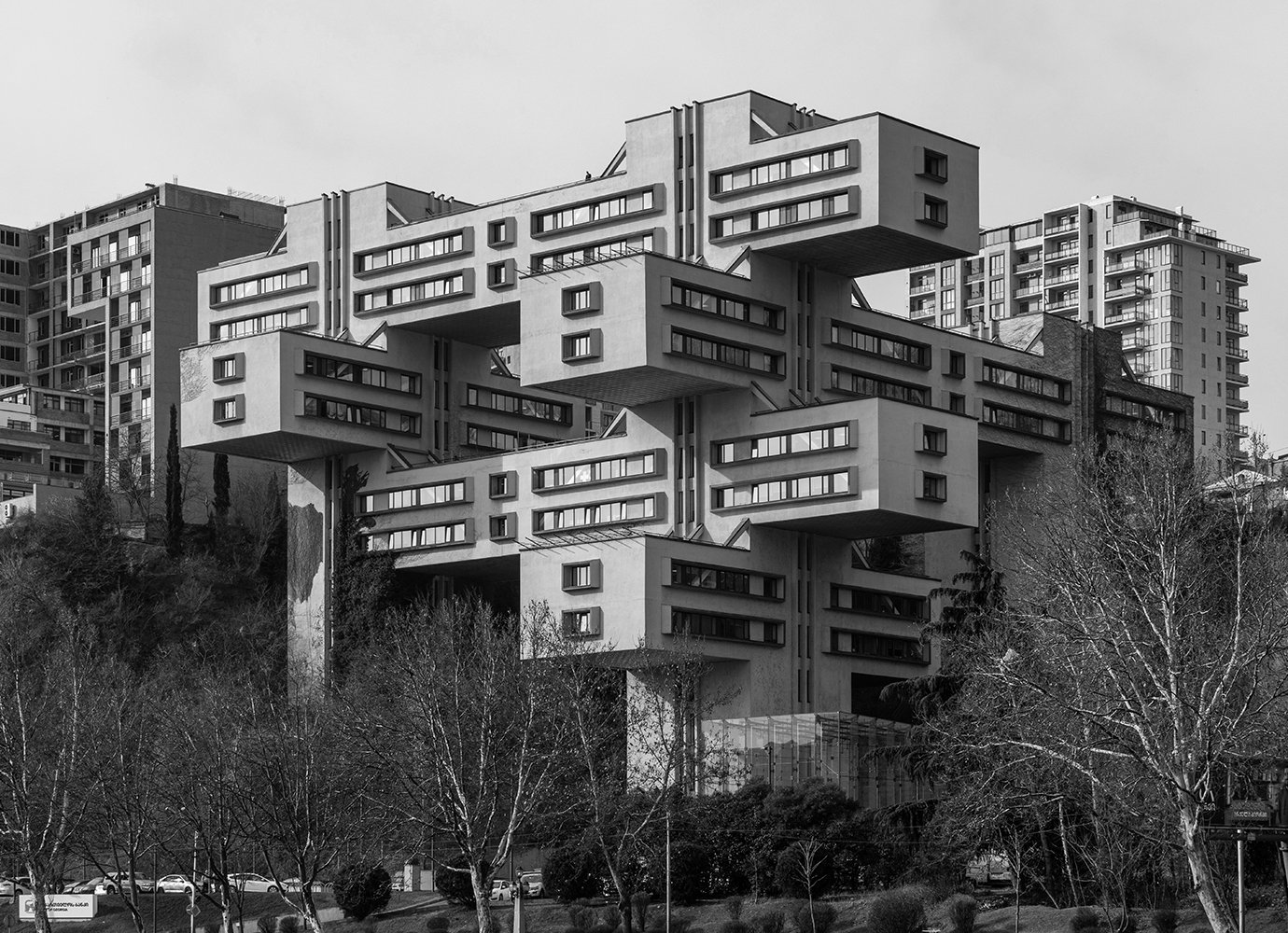 On the map: 6 modernist architectural monuments of 20th century Tbilisi