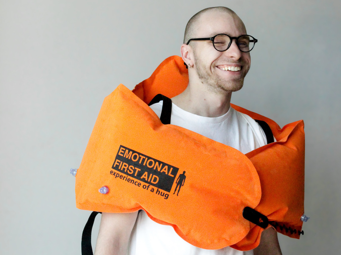 Emotional First Aid: this designer is recreating the experience of a hug