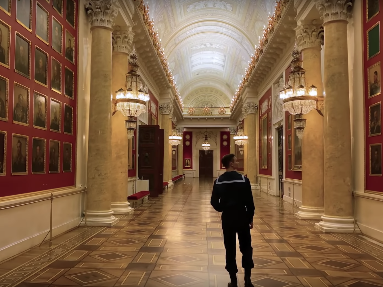 Hermitage and chill: take a five-hour tour of Russia's magnificent museum, captured in a single shot