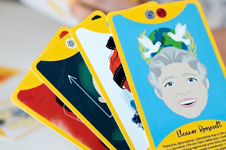Are you an artist? This card game wants to honour Balkan women who have changed history