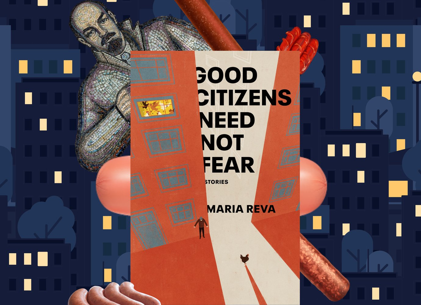 In Maria Reva's Kafkaesque satire, puzzled occupants discover their Soviet tower block doesn't exist