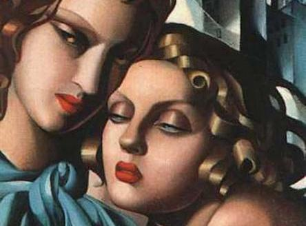 The dark glamour of Tamara de Lempicka's paintings