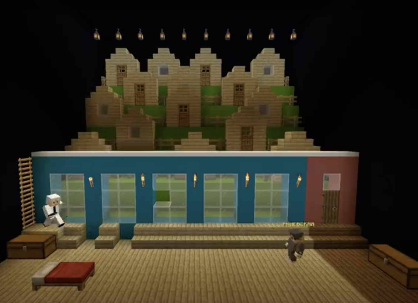 Russian theatre stages Chekhov's The Cherry Orchard inside Minecraft