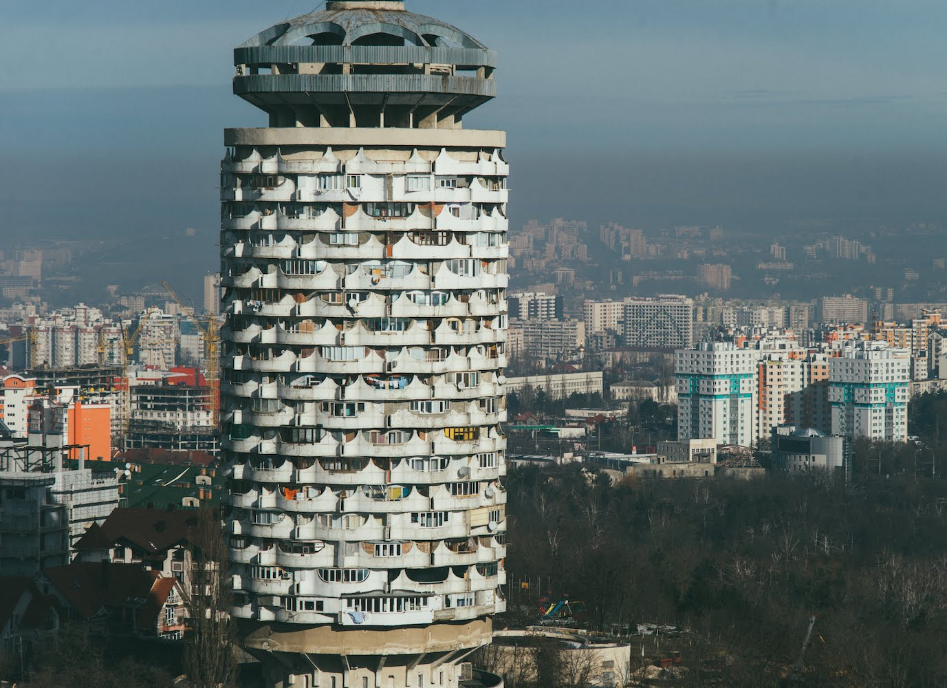 From the sarcastic to the romantic, this account takes a new look atEastern Europe's high rises