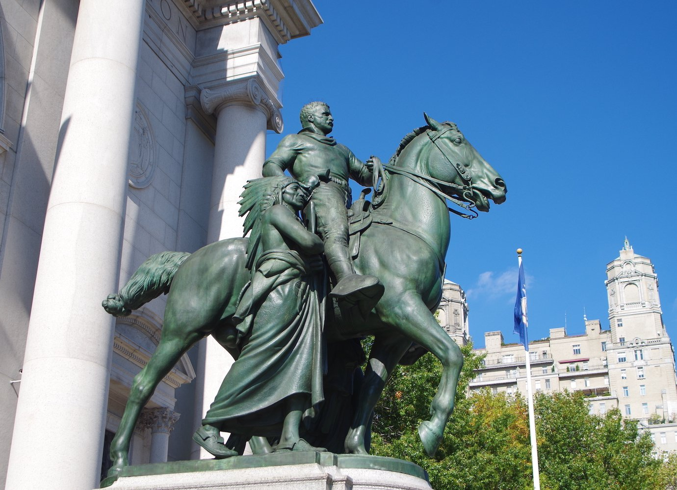 A Russian art collector offers to buy America's controversial statues